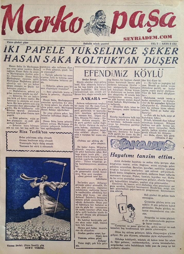 Seyriadem – Türkiye'nin En Zengin Mizah Dergisi Arşividir.